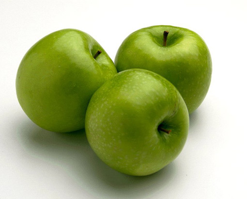 I don't like to eat green apple.